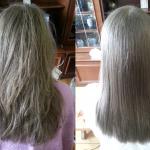Plaukų tiesinimas keratinu 3