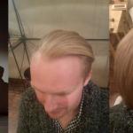 Vyriškas plaukų tiesinimas keratinu 5