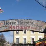 """Londono """"arklių ligoninės"""" turgus"""